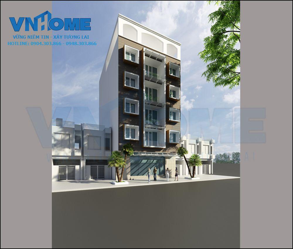 Ấn tượng với thiết kế khách sạn mini hiện đại đẹp tại Hải Phòng 01